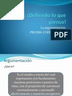 Argumentación 2