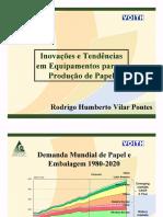 Inovações e Tendências Em Equipamentos Para a Produção de Papel (Voith)