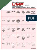 Workout Schedule 2