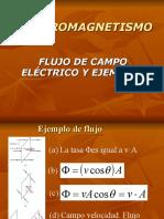 Flujo de Campo Electrico