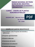 Diseno Proyectos de Plantas Agroindustriales