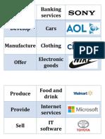 Describing a Company