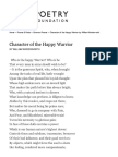Character of the Happy Warrior by William Wordsworth _ Poetry Foundation