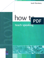 How to Teach- speaking- thornbury
