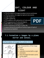Light colour sight