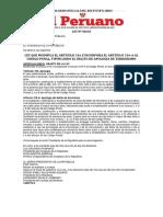 Congreso de La Republica Del Perú Ley 30610