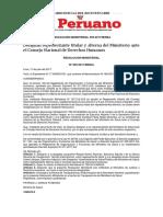 MINSA PERÚ Resolución Ministerial 559-2017