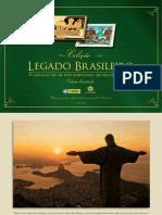 Catálogo - Coleção Legado do Brasil - Orgulho de um país eternizado em selos dourados