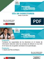 Jornada de Reflexión GIA Para Directores-ME