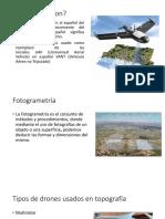 Uso y Calibramiento de Drones