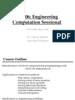 CE206 MATLAB Fundamentals