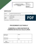 Nº2 Programa Corte Para Conexion Mejotramiento Sist. Agua Potable El Tabo.