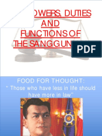 Topic 3 Powers and Functions of the Sanggunian