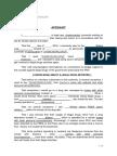 Sample Format of Affidavit (English)