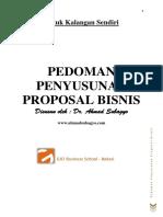 Pedoman Proposal Bisnis