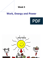 Week 5 Work Energy Power