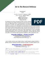 A Quick Guide to the Benoni Defense.docx