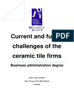 current and future challenges of the ceramic tile firms