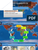 Cartografia y Elemento de Cartografia