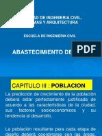 Calculo de La Poblacion SANEAMIENTO