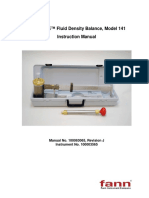 Pressurized Fluid Balance