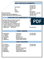Phase Two Emergency Plan