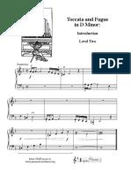 Easy toccata fugue - piano beginners.pdf