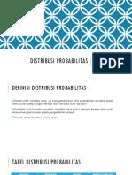 Stat1.6 Distribusi Probabilitas