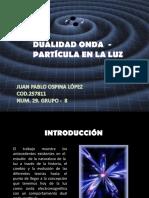 Dualidad Onda - Particula en la luz.ppt