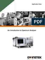 981028 an Introduction to Spectrum Analyzer