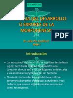 Patología Del Desarrollo2016 - Copia