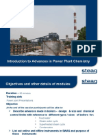 1-Introduction to Advanced in Power Plant Chemistry