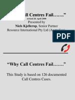 Why CCs Fail