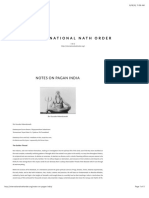 Dadaji - Notes on Pagan India