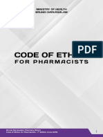 Code of Ethics for Pharmacist - 1st Edition (June 2015)