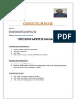 Curriculum Vitaeyoussouf