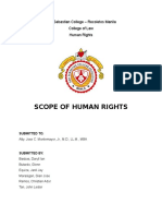 Scope of Human Rights