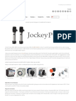Jockey Pump Dan Komponen Control Panel Fire Hydrant