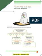 Pelajaran 1 Menyakini Kitab Allah, Mencintai Al-Qur'an (1)
