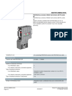 Siemens DP Profibus Connector 1