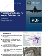 Radar Trajectory Processing