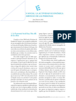 Economia Social La Actividad Economica Al Servicio