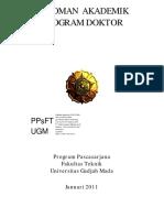 Pedoman Program Doktor Ft Ugm