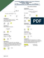 Simulacro I- Algebra