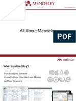 All About Mendeley 2016