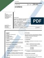 NBR 05919 - 1989 -  Ferrotitânio