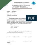 Surat Baksos Kelurahan