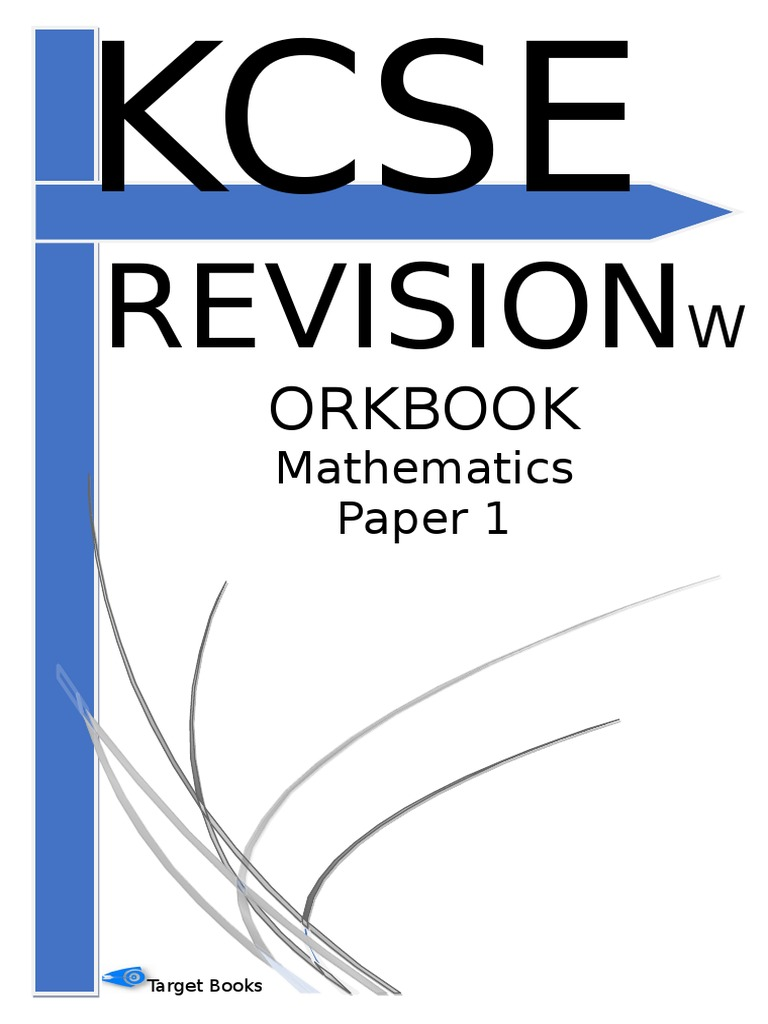 KCSE Revision Work Book Mathematics Paper_1 | Trigonometric