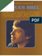 Jacques Brel Les Plus Grandes Chansons