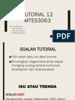 Tutorial 12(Alex)